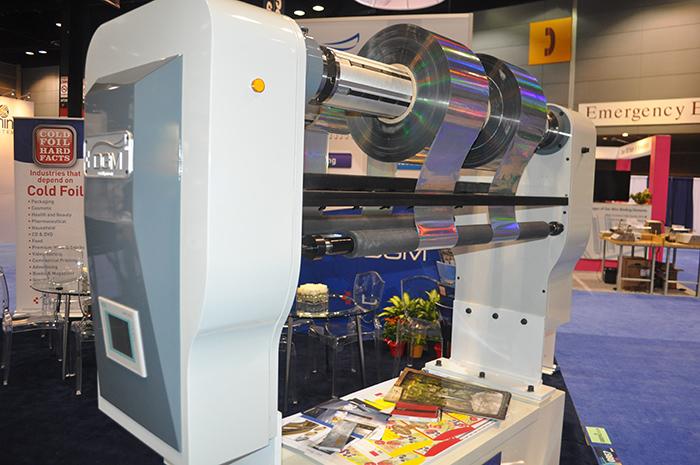 GraphExpo2014-Cold-Foil-UV-Cast-and-Cure-Foildex-39