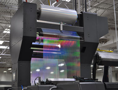 UV Cast and Cure Filmdex Holographic Printer for Heidelberg, KBA, Komori, maroland, Mitsubishit Presses
