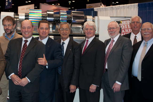 The DGM Team at the 2012 Graph Expo Trade Show