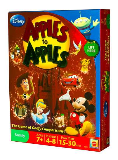 apples to apples cold foil