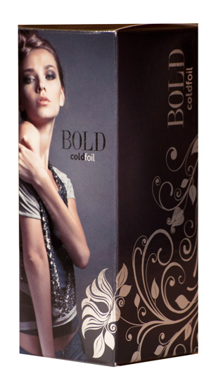 Sample Box - Cold Foil