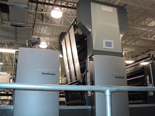 Heidelberg cold foil indexing, uv cast and cure, foildex system