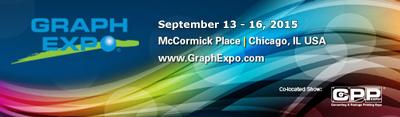2015 Graph Expo Chicago, IL