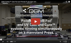 DGM Foildex Cold Foil Indexing for manroland, Heidelberg, and KBA presses