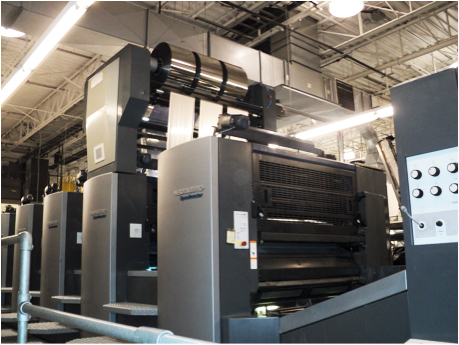 Diversified Graphic Machinery's Foildex at Rock Tenn cold foil indexing for Heidelberg, KBA, manroland