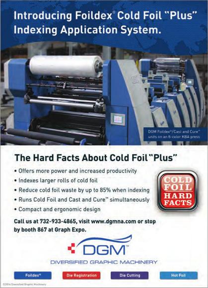 DGM Introducing Folidex® Cold Foil