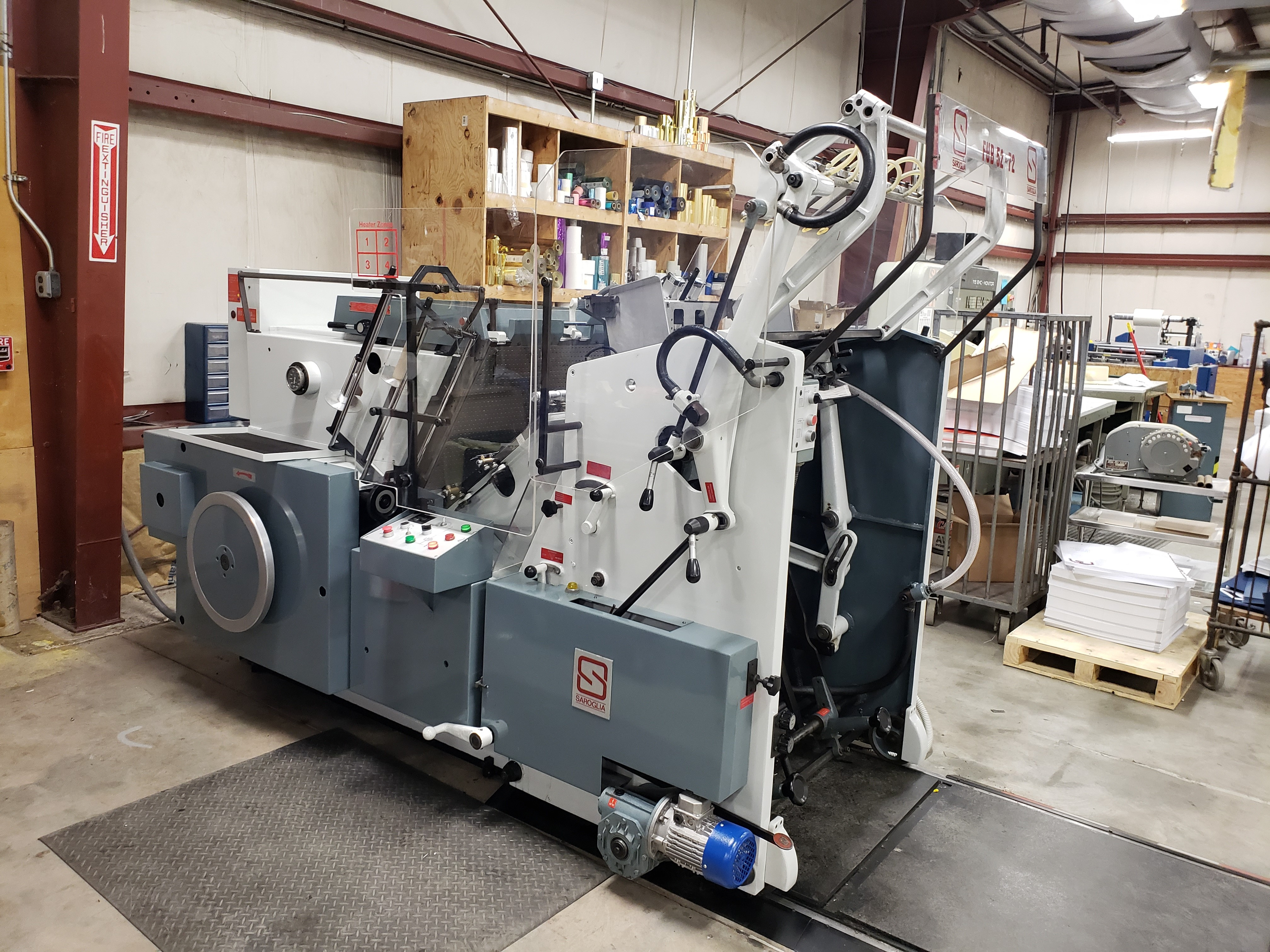Factory Rebuilt Saroglia Machine For Sale